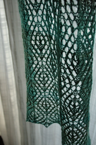 Diamond Lattice Stole 5
