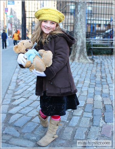 Positively Bearable! (Mini Hipster - kids street fashion, childrens clothing trends)