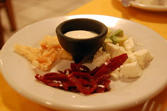 Soup condiments (sammi) Tags: food mexico huatulco