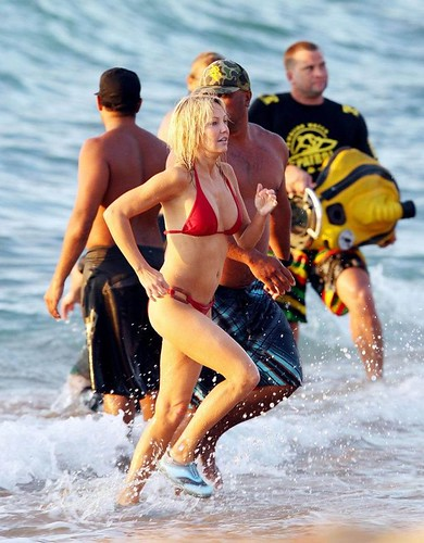 Heather Locklear bikini photo