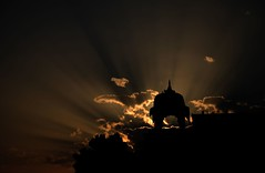 Sunshine tradition! (Amar Jain) Tags: photoshopped rays aplusphoto