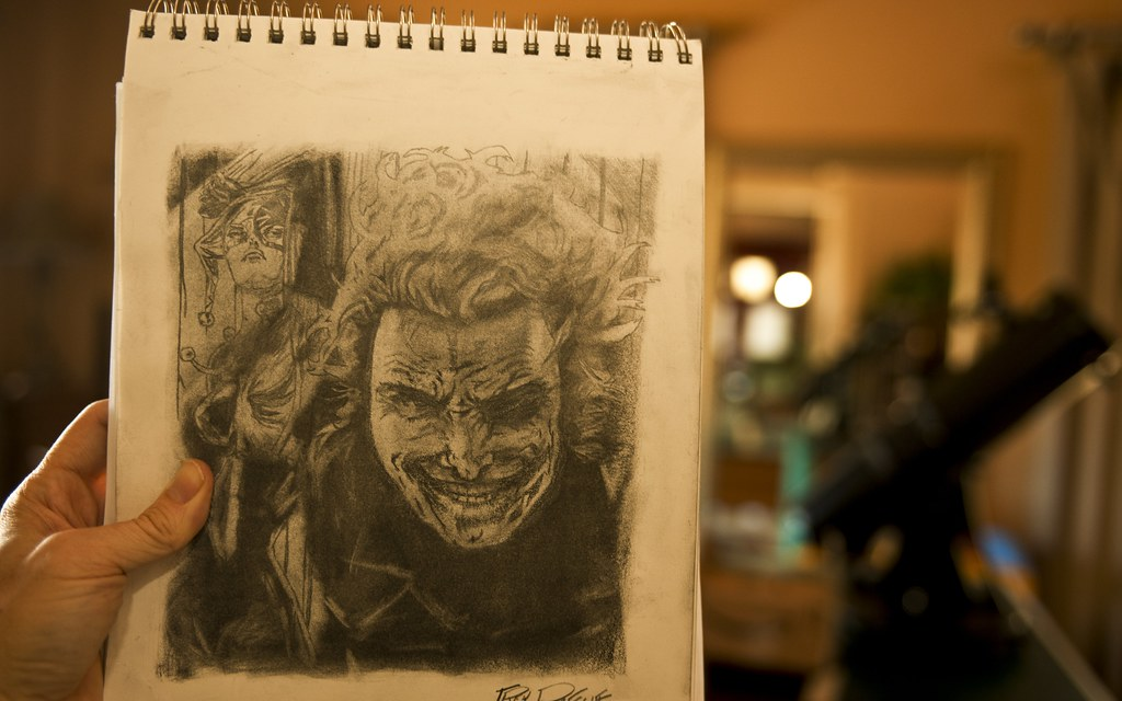 The Joker... my latest drawing