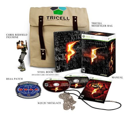 Resident Evil 5 Collector X360