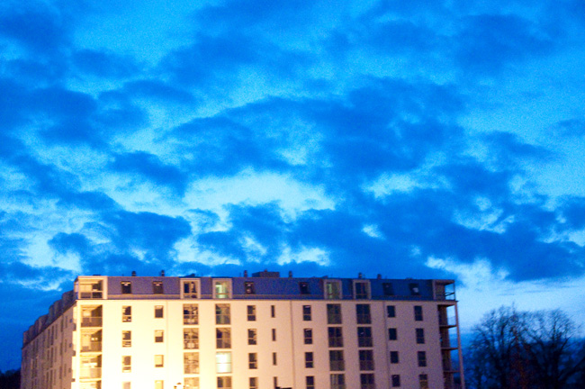 himla blå