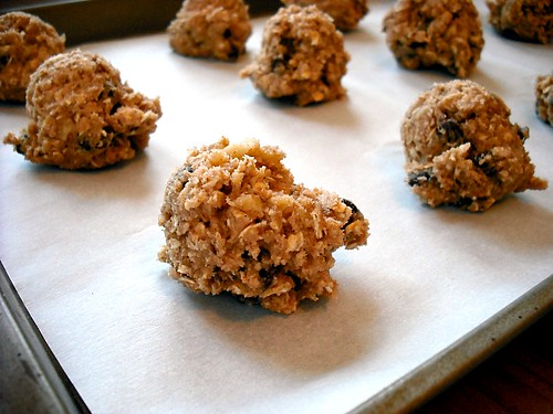 oatmeal cookie dough