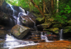 P2213480-Edit (Steve Daggar) Tags: waterfall nationalpark australia olympus brisbanewater zd somersby 1122mm e520 fotocompetitionbronze fotocompetitionsilver