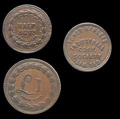 British Cooperative Society tokens