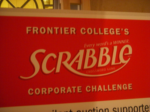 Fontier College Corporate Scrabble Challenge