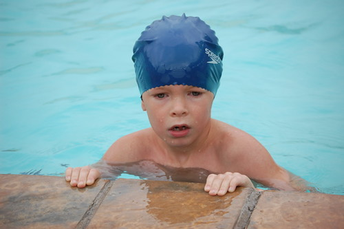 joshua at swimming gala