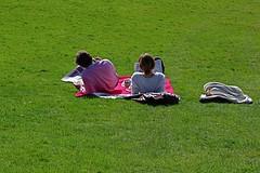 Spring in the City Park (tonyhall) Tags: park people sun grass spring picnic sunday warmth hampsteadheath sundaypapers thehillgarden
