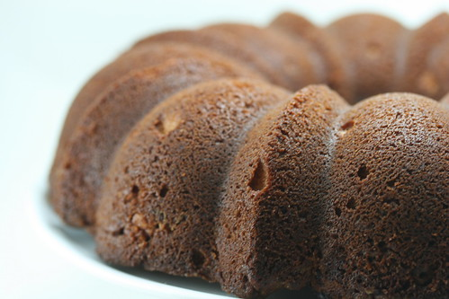 Nutty, Chocolaty, Swirly Sour Cream Bundt Cake (Dorie Greenspan's recipe)