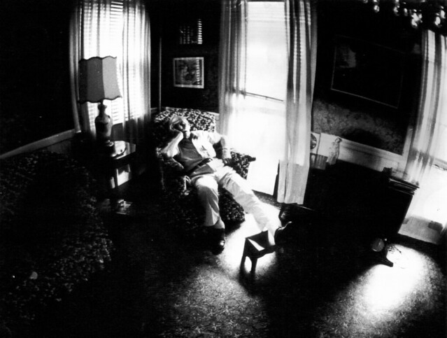 windows lamp statue brooklyn nap sleep madonna grandfather style grandpa livingroom nostalgia sofa snooze 70s napping seventies chiaroscuro repose footstool boropark sofachair nineteenseventies stereoconsole lanoleum sigma1628filtermatic