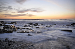 Flow (BB (O.)) Tags: ocean longexposure sunset music seascape motion beach portugal flow spring sand nikon rocks exposure waves tide north porto bb nocrop gaia portuguese blindzero waterscape d300 shineon o nofilters shashamanesaysthankyou happybdayswettttts