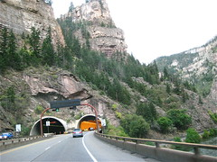 Hanging Lake tunnel entrance