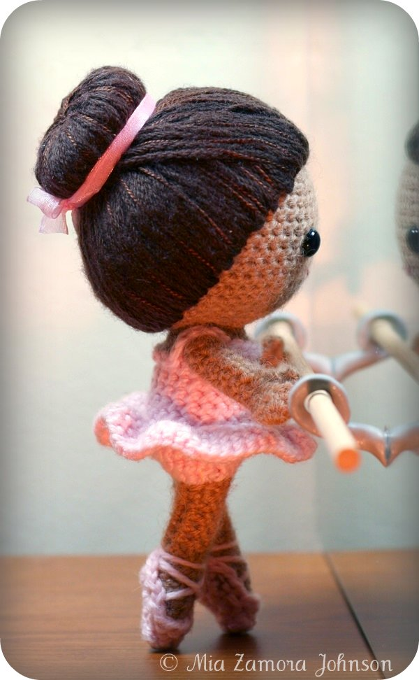 Owlishly: Brisa the ballerina amigurumi pattern available ...