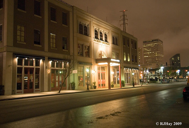 All is finally pretty quiet - Decatur St. - French Quarter - New Orleans
