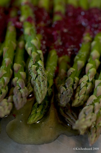 Blood Orange Roasted Asparagus