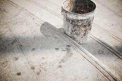 Dirty Bucket (Kim Smith-Miller) Tags: vacation thailand concrete bucket dirty sidewalk gross filthy 2009 kanchanaburi