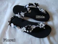 Floral (Hilldinha) Tags: flip havaianas flop sandal sandalias sandlia havainas customizadas sandaal bordadas pedrarias havaianascustomizadas chineloscustomizados sandaliascustomizadas