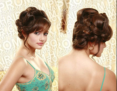 What's so classy updo prom or formal hairstyle can I get?
