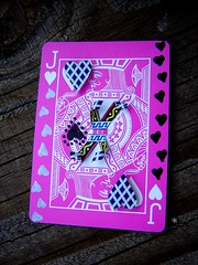 'Jack of Hearts' APC (Michelle Hedgecock) Tags: cards folkart recycledart apc playingcards deckofcards jackofhearts alteredplayingcards collagecard