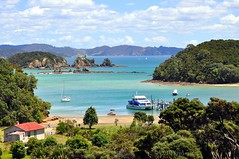 Urupukapuka Island, Bay of Islands (Kiwi~Steve) Tags: new landscape island islands bay scenery north zealand nz northland urupukapuka nikond90