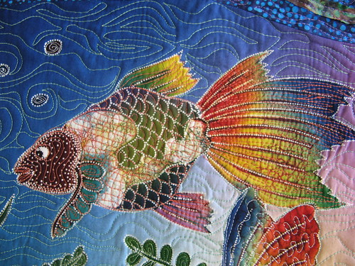 Iife under the sea fish detail