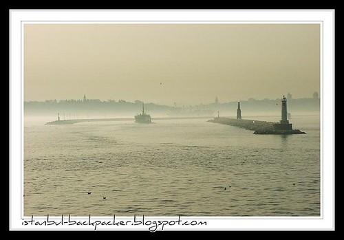 Misty Istanbul Bosphorus