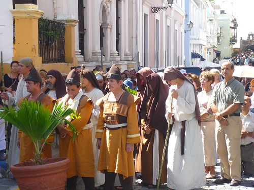 Dressed for the Good Friday procession