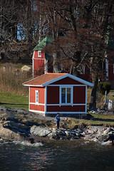 rote Häuser (Sonsunja) Tags: ausflug vaxholm