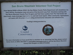 Information at Trailhead (Franciscan Mobile Home Park, California, United States) Photo