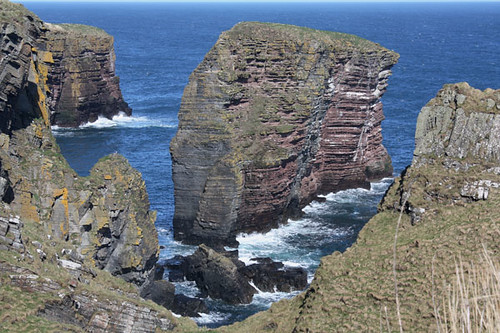 The South Stack, Girston geo, Caithness, Scotland