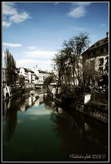 Lubiana: La Ljubljanica (Pachibro Portfolio) Tags: canon river eos europa europe fiume slovenia ljubljanica lubiana 400d canoneos400d colorphotoaward pasqualinobrodella pachibroportfolio pachibro