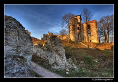 the play of light and shadow (Mariusz Petelicki) Tags: castle hdr zamek 3xp tczyn mariuszpetelicki