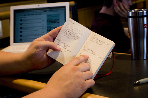 Microblogging Notebook