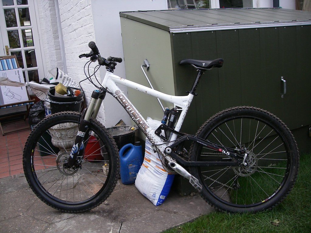 Compact Bike Storage For A Small Garden Singletrack Forum