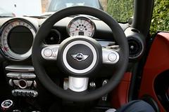 JCW Leather Steering Wheel (andyvenn1) Tags: leather wheel steering jcw johncooperworks