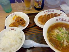 (shimashimaneko) Tags: japan foods ramen niigata gyoza  nagaoka    teisyoku