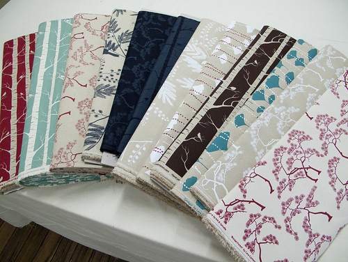 latest array of fabrics