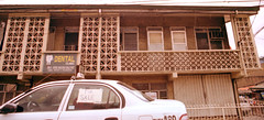 dental clinic and taxi for sale (_gem_) Tags: street city urban building film architecture 35mm canon eos design kodak philippines sanjuan 200 manila 135 850 metromanila canoneos850