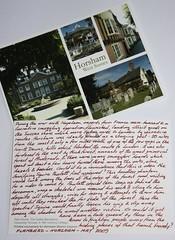 Horsham Postcard Story