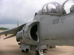 """VMAT-203 """"Hawks"""" TAV-8B Harrier MCAS Cherry Point NC (Nick__Thomas) Tags: plane cherry point navy attack jet marines harrier hawks mcas av8b vmat203"""