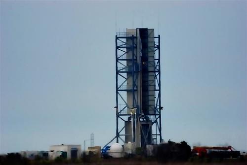 NASA Wallops Flight Facility Launch Pad 0B Gantry
