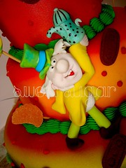 SWEET SUGAR - By Michelle Lanza - do Chapeleiro cake (SWEET SUGAR By Michelle Lanza) Tags: sweet sugar da bolo oficial