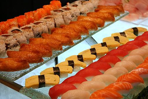 Sushi and maki