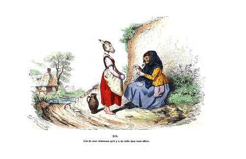 016-Les métamorphoses du jour (1869)-J.J Grandville
