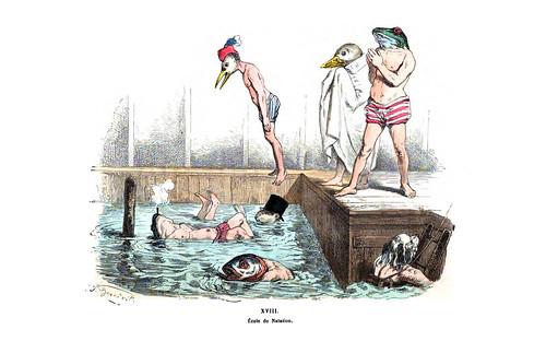 020-Les métamorphoses du jour (1869)-J.J Grandville