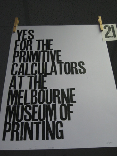 MMOP Primitive Calculators Print