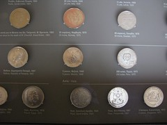 Coins from various countries (Tilemahos Efthimiadis) Tags: home museum coins heinrich hellas athens greece residence 50views numismatic schliemann      address:city=athens  dvdphotos14   address:country=greece