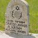 handwritten gravestone, Jewish cemetery, Dragodan, Pristina, Kosovo, May 10, 2009